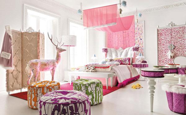 Дизайн интерьера деткой комнаты для