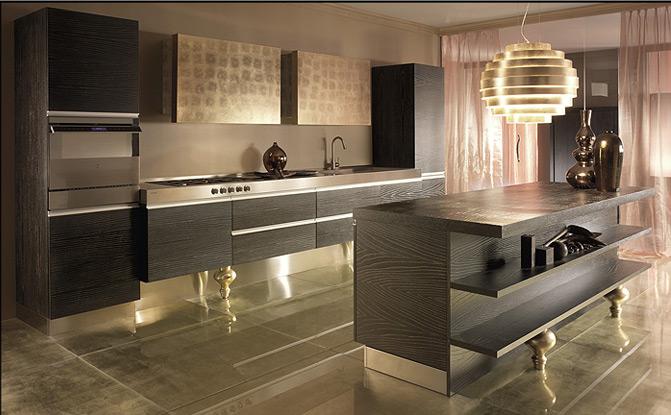 Фото дизайна современной кухонной мебели