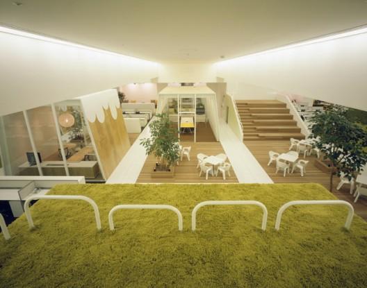 Дизайн интерьера офиса tbwa hakuhodo